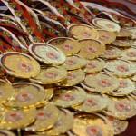 Медали победителям